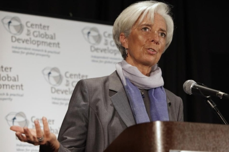 Christine Lagarde, directora del Fondo Monetario Internacional (FMI). | Reuters