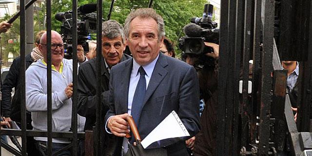 François Bayrou, candidato del Modem.   Afp