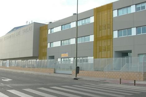 El colegio Estudiantes de Las Tablas. | Lastablasdigital.es