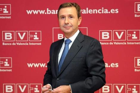 El actual director financiero de Bancaja, Aurelio Izquierdo   Efe