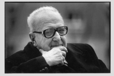 Roger Garaudy, en 1995. | Javi Martínez