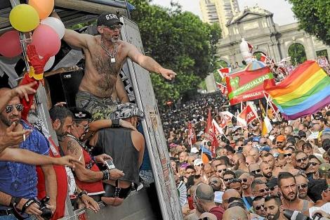 Manifestación del Día del Orgullo Gay 2011.   Gonzalo Arroyo