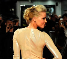 La actriz Amber Heard.