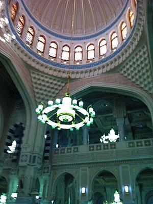 Interior de la mezquita Al Haram.| A. F.