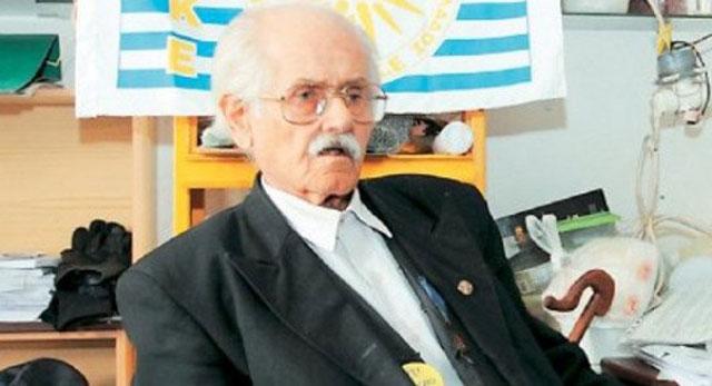 El líder del Paeke, Miltiadis Tzalazidis.