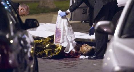 Imagen del joven asesinado ayer noche en Vallecas.| Gonzalo Arroyo