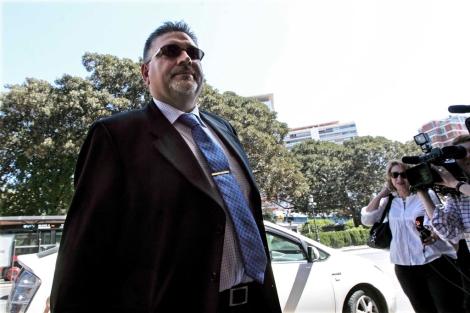 El jefe de Promoción de la Agencia de Turismo, Jorge Guarro a su llegada al TSJ. | José Cuéllar