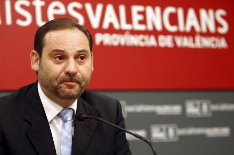 José Luis Ábalos, en la presentación de su candidatura. | José Cuéllar