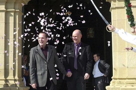 El matrimonio homosexual en espana
