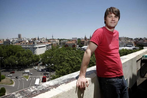 Mark Stevenson, fundador de la Liga de los Optimistas Pragmáticos.   S. Enríquez-Nistal