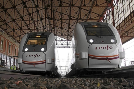 Trenes de la serie 449. | Ical