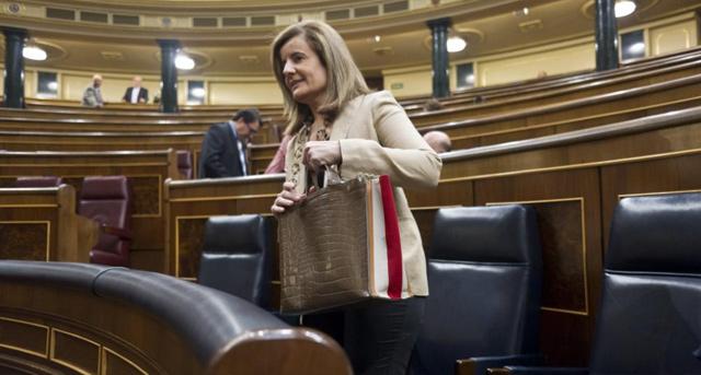 La ministra de Empleo, Fátima Báñez. | Gonzalo Arroyo.