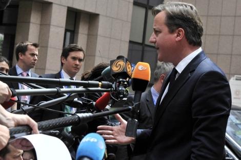 El primer ministro británico, David Cameron. | Afp