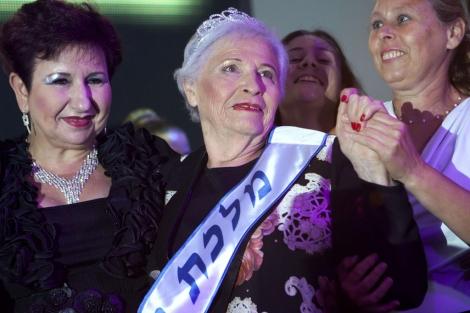 La ganadora del concurso, Hava Hershkovitz. | Afp