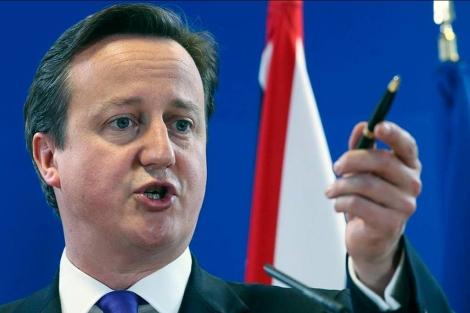 El primer ministro británico, David Cameron. | Efe
