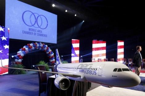 Presentación de la nueva planta de Airbus.   Reuters