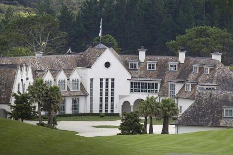 Imagen de loa mansión del fundador de 'Dotocom'. | Reuters