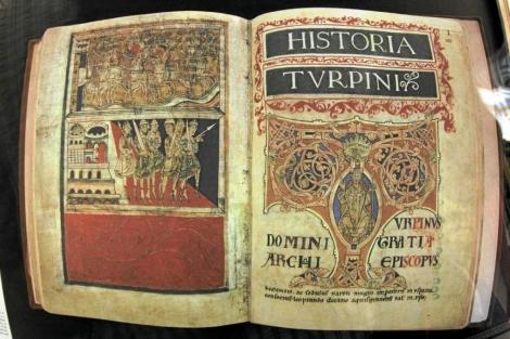 Edición facsímil del Códice Calixtino que fue sustraído en Santiago.