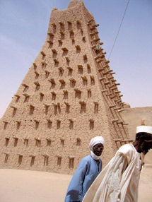 Mezquita de barro en Tombuctú. | Efe