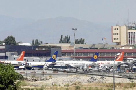 Aviones en Barajas. | Kike Para