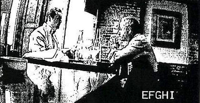 El empresario Tauroni, reunido con el ex director general de Cooperación, en una imagen captada por la Policía.