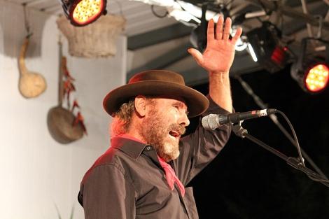 El Cabrero, durante su actuación en la XIX Noche Flamenca. | M.M.M.