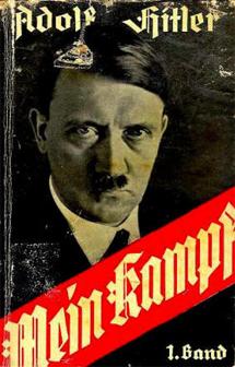 La edición original de 'Mein Kampf'.