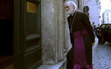 Rowan Williams, arzobispo de Canterbury. | Afp