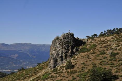 Peña del Cuervo.| Marga Estebaranz