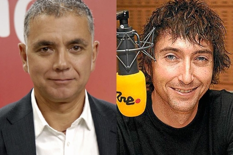 Juan Ramón Lucas y Toni Garrido.