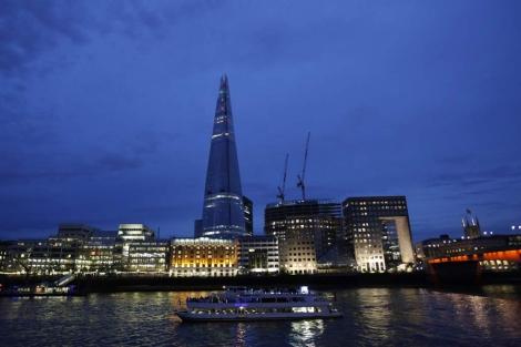 El rascacielos The Shard, recientemente inaugurado. | Karel Prinsloo