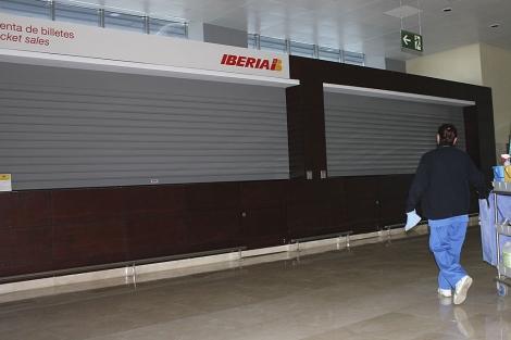 Aspecto del aeropuerto de Badajoz a principios de 2012. | D. V.