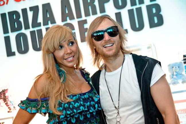 David & Cathy Guetta   Foto: Sergio G. Cañizares
