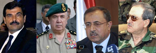El cuñado de Asad, el general que gestionaba la revuelta, el ministro de Interior y el de Defensa | E.M