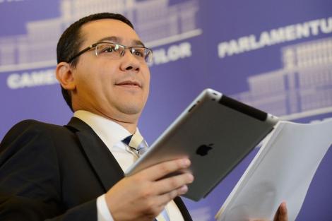 El primer ministro rumano, Victor Ponta. | Afp