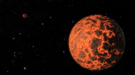 Representación del planeta UCF-1.01. | NASA