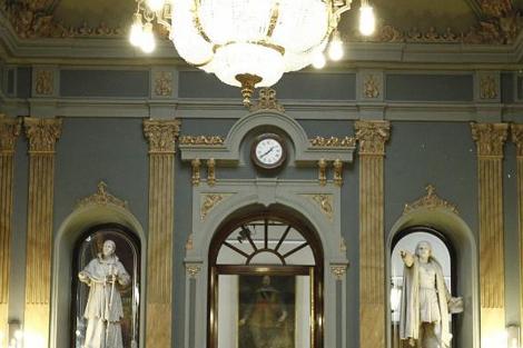 Interior del senado.   Efe