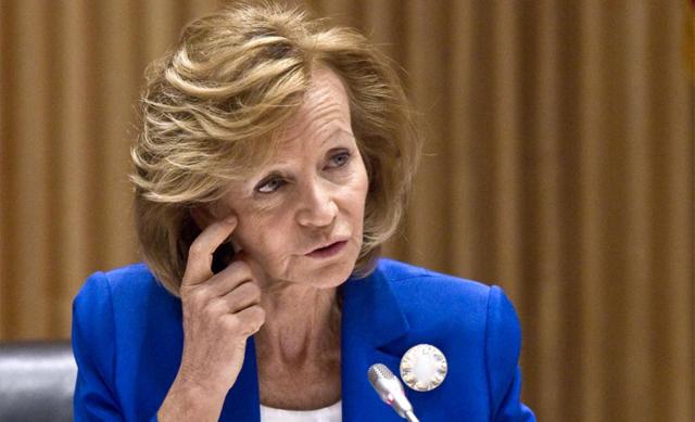 La ex ministra Elena Salgado. | Alberto di Lolli