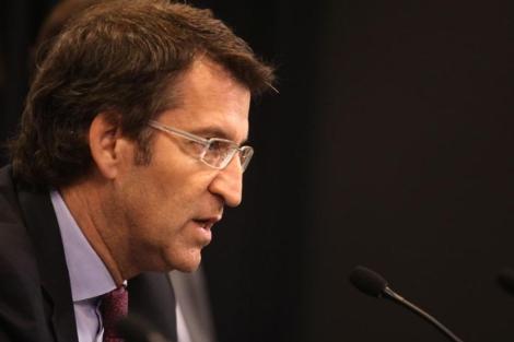 El presidente gallego, Alberto Núñez Feijóo.   Efe