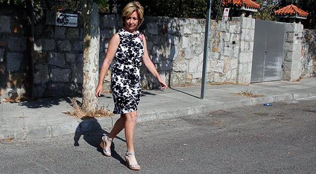La presidenta de la Comunidad de Madrid, Esperanza Aguirre. | Javier Barbancho