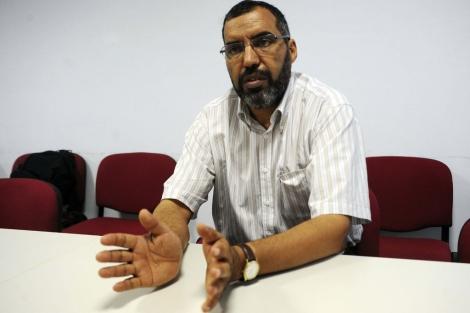 El delegado del Frente Polisario en España, Bucharaya Beyun. | Efe