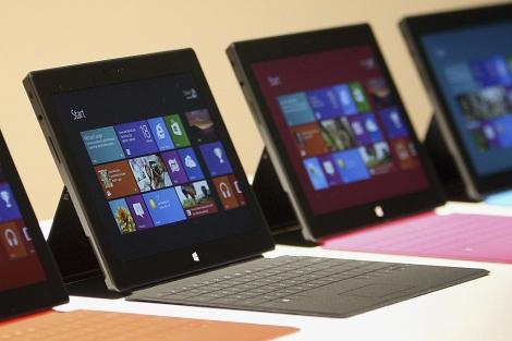 La nueva tableta 'Surface' de Microsoft.   Reuters
