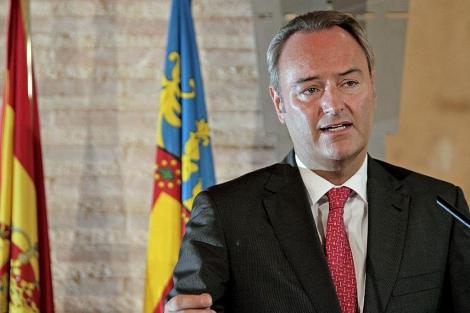 El presidente de la Generalitat Valenciana, Alberto Fabra | Efe