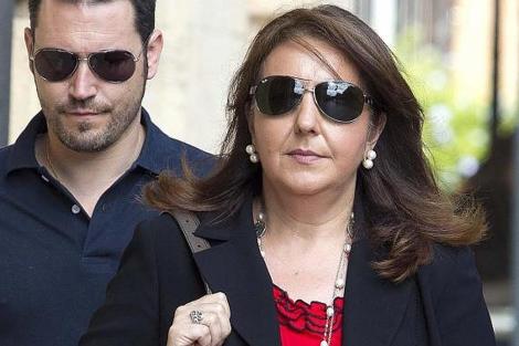 La alcaldesa popular, Adela Pedrosa, en una imagen de archivo | Benito Pajares