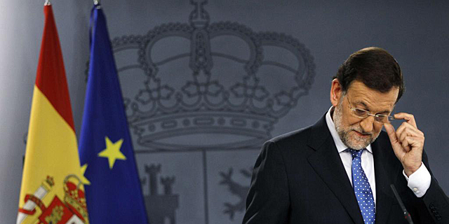 Mariano Rajoy, este viernes en La Moncloa.   Reuters