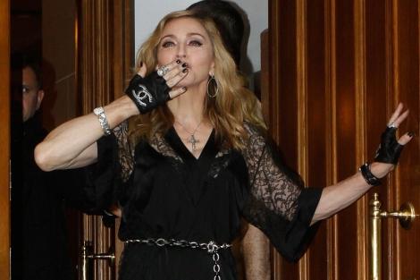 Madonna, en Moscú. | Reuters