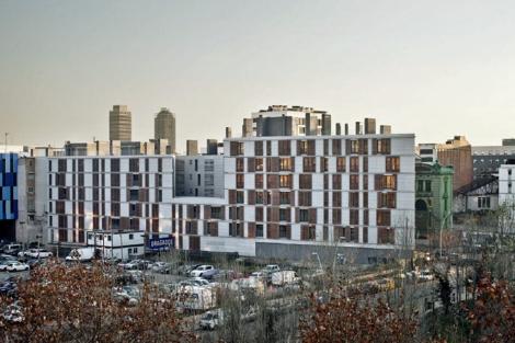 Primer inmueble de pisos con calificación energética A en Barcelona.