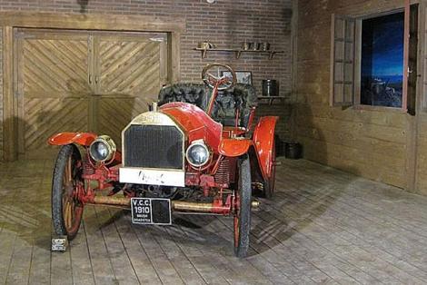 El vehículo antes de la restauración. | E.M.