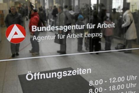 Una oficina de empleo en Alemania.   Afp