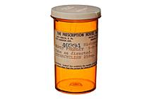 Bote de pastillas de Elvis. | Foto: H.A.